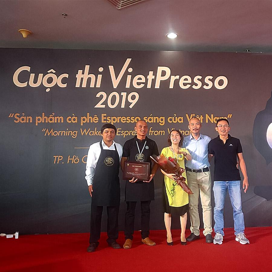 Dòng Máy Pha Café Đứng Đầu Cuộc Thi Việt Espresso 2019