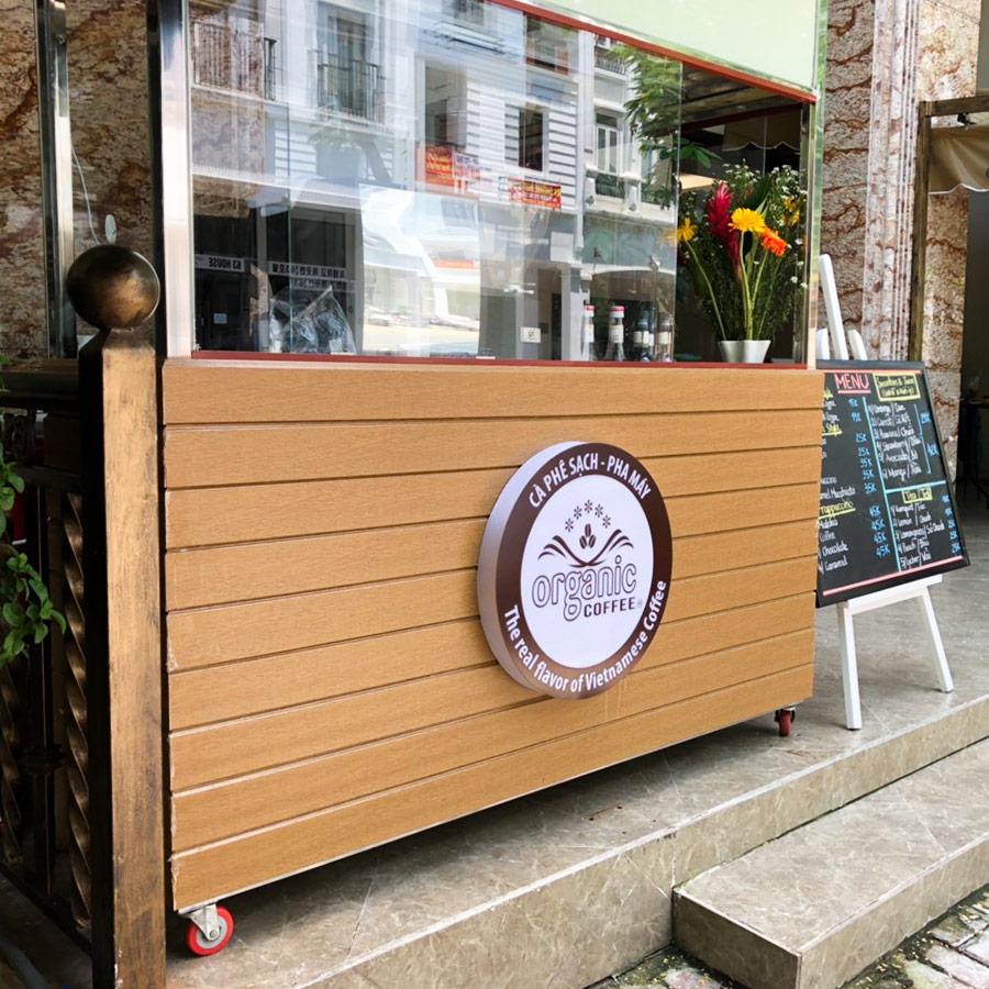 Các Đời Xe Cafe Take Away Từ Organic Coffee