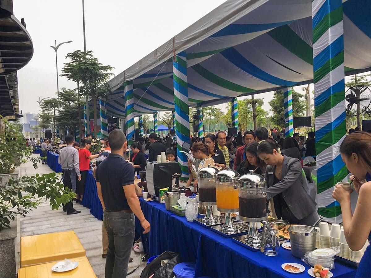 Organic Coffee và Sự Kiện Mở Bán Chung Cư Cao Cấp New City Quận 2
