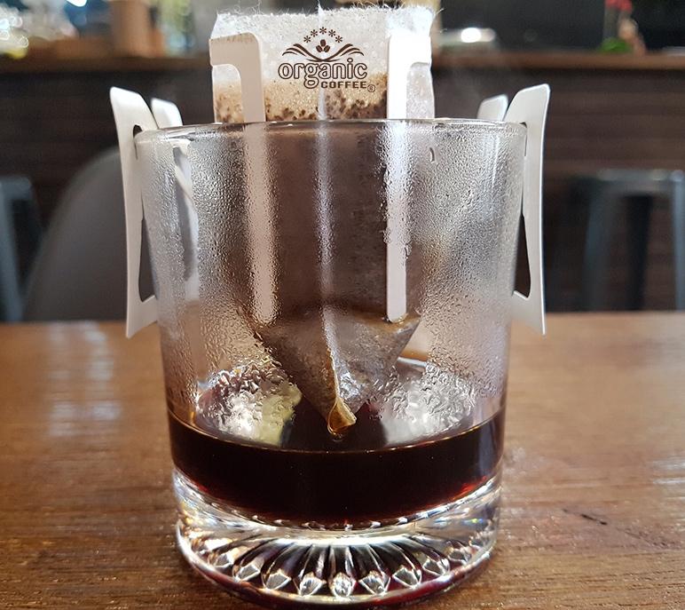 Cà phê túi lọc phong cách cafe của người Nhật