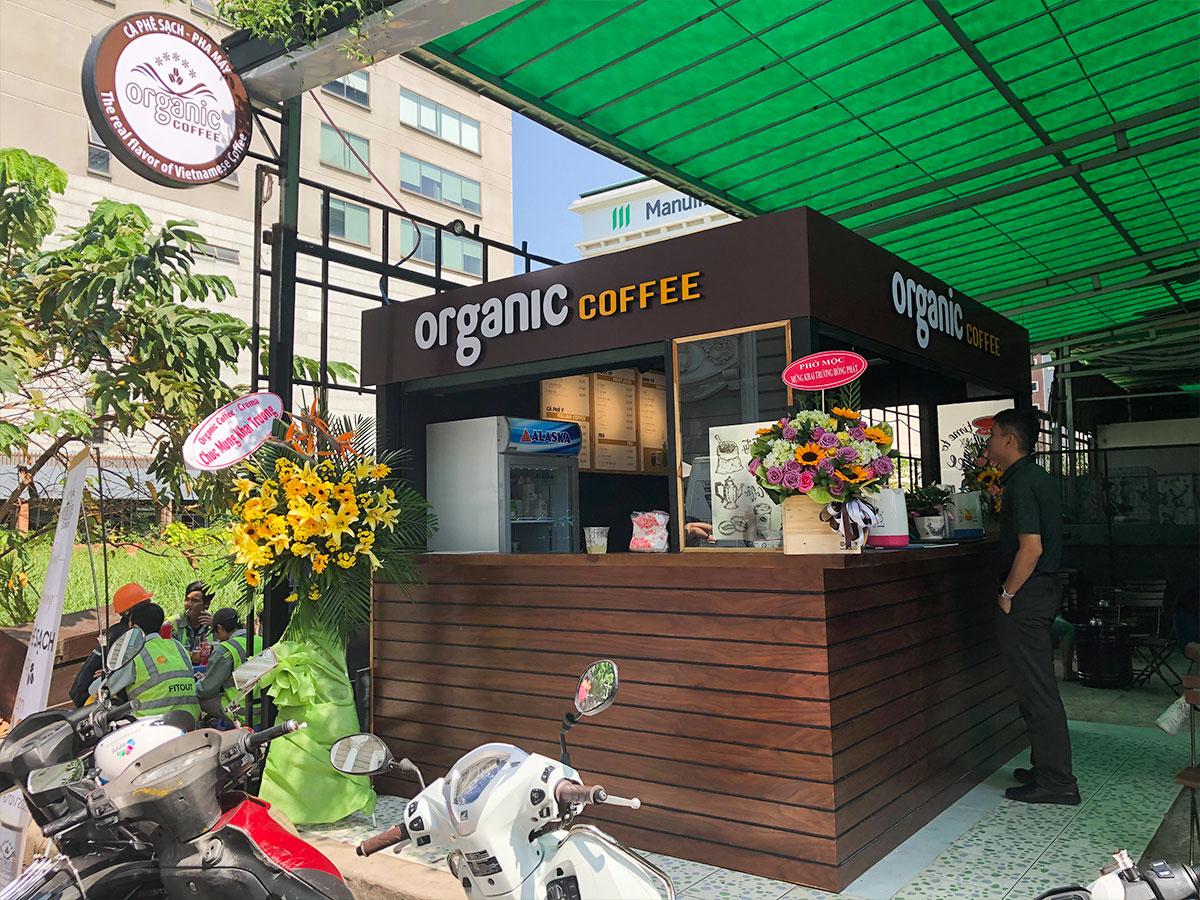 Cà phê Organic