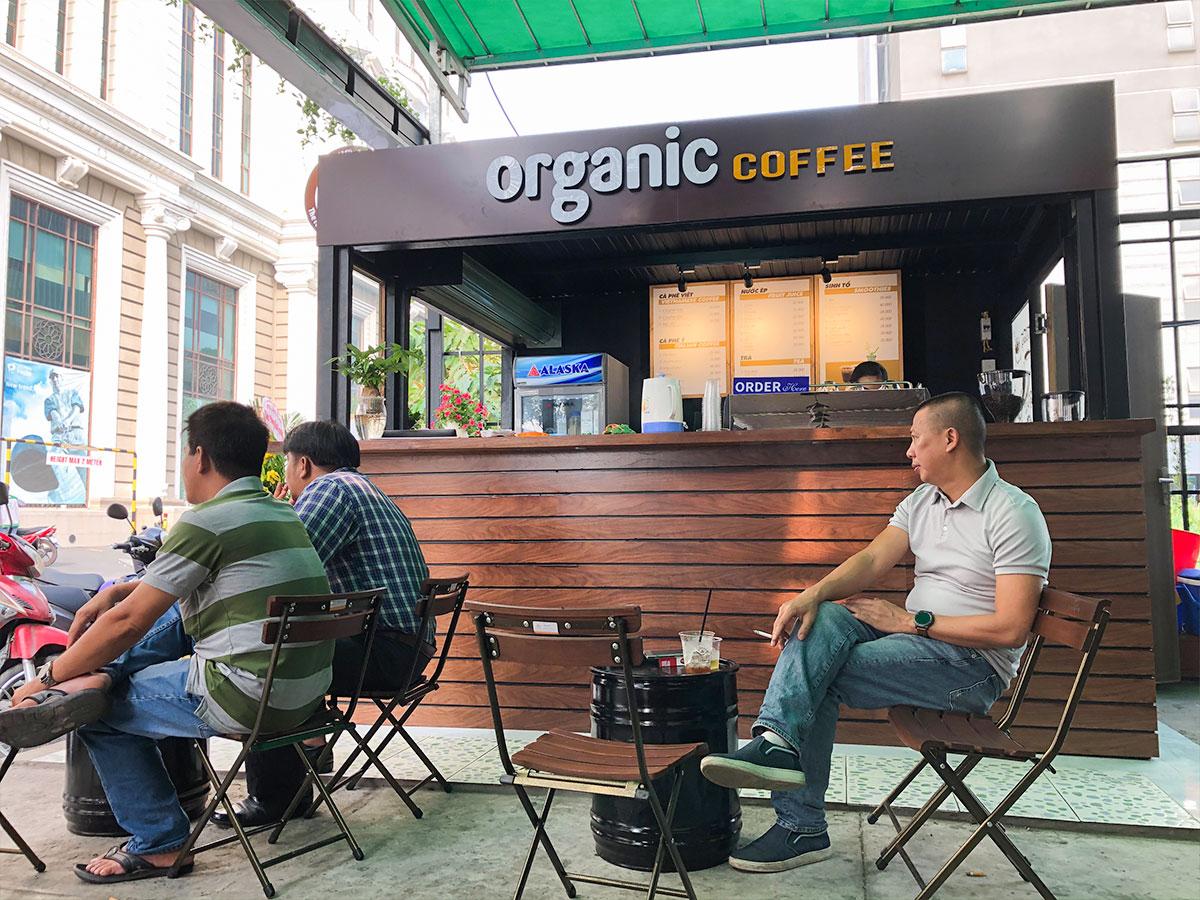 Thương hiệu cafe Organic Coffee