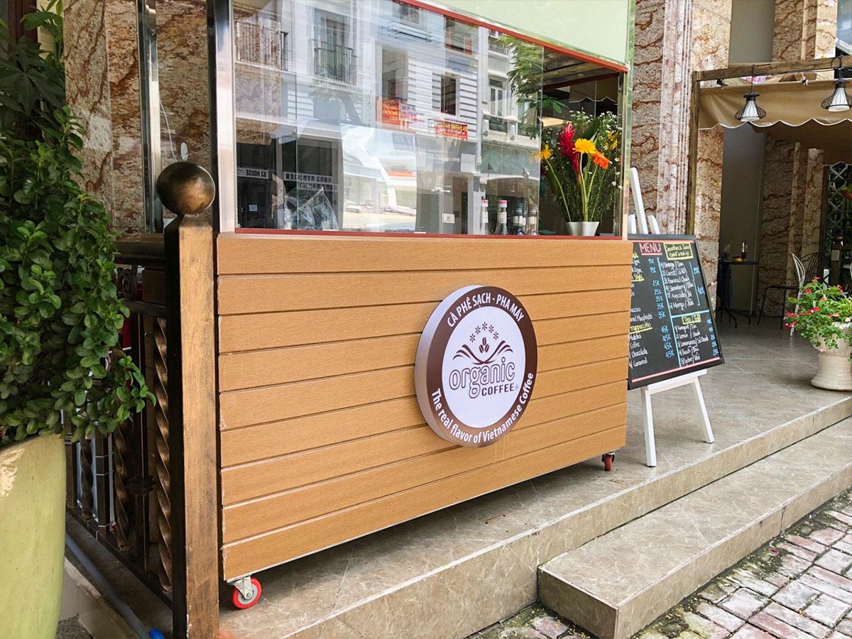 Cafe Take Away - Set up Rất Đẹp Và Lịch Sự