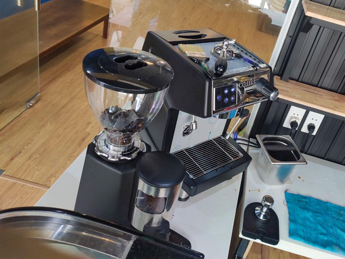 bộ máy pha café Crema CRM3200