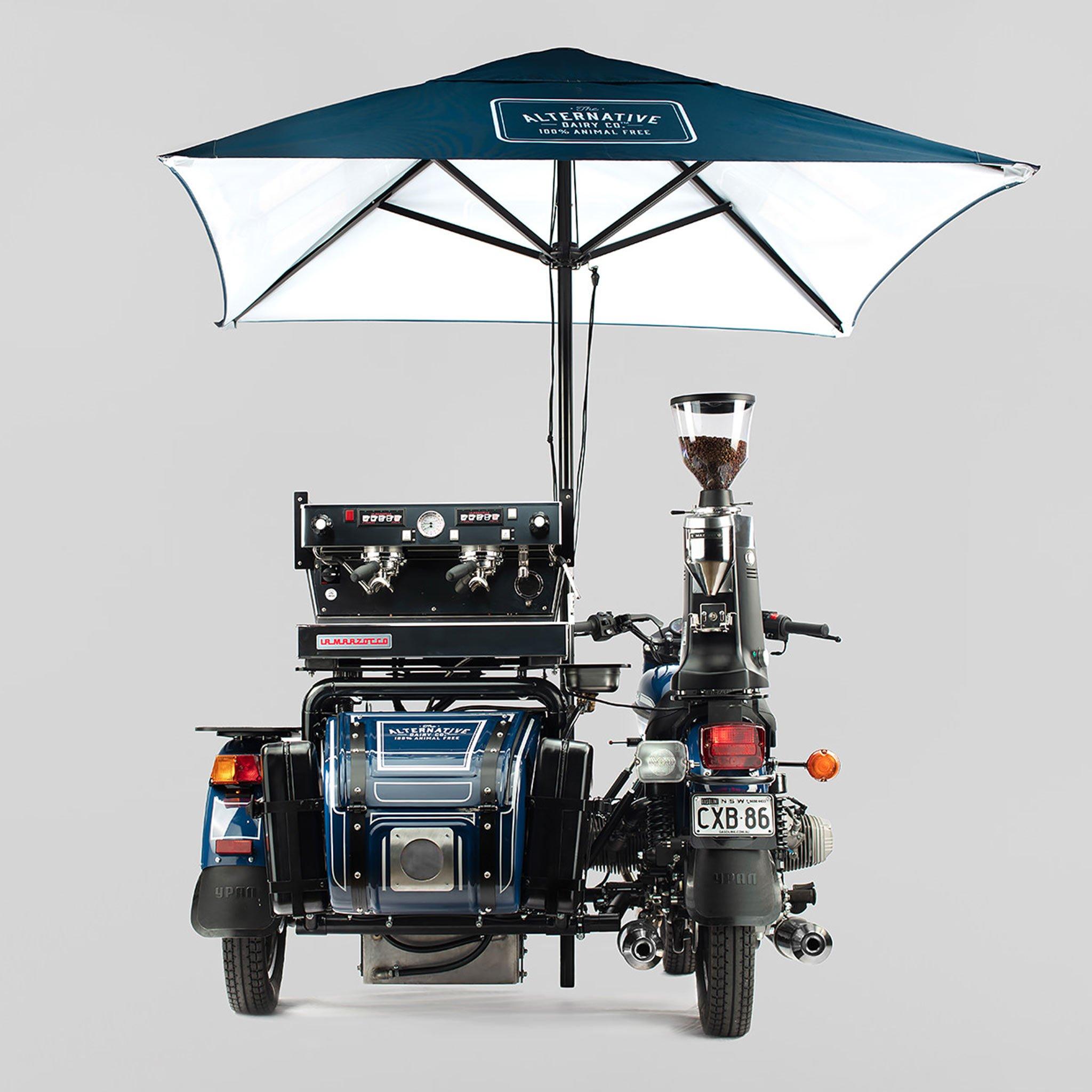 Slide Car Độ Chế Thành Xe Café Cực Ngầu – Ý Tưởng Sáng Tạo
