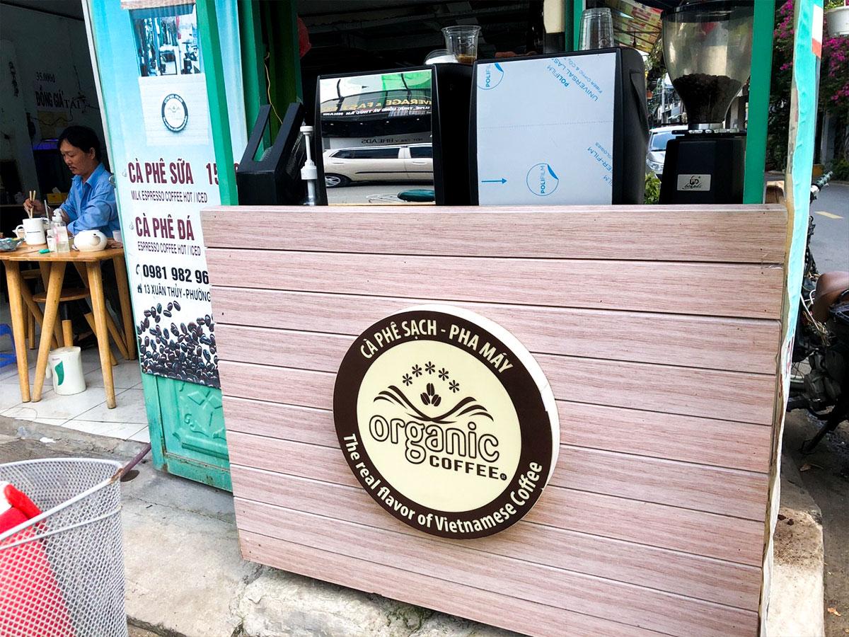Xe Cà Phê TakeAway Organic Coffee dùng 2 máy pha Crema CRM-3200