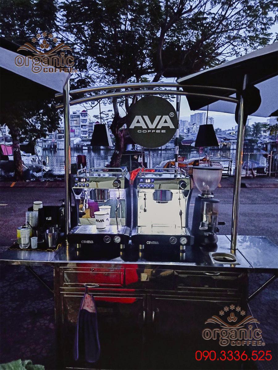 Cung Cấp Máy Pha Cà Phê CRM-31A cho AVA COFFEE