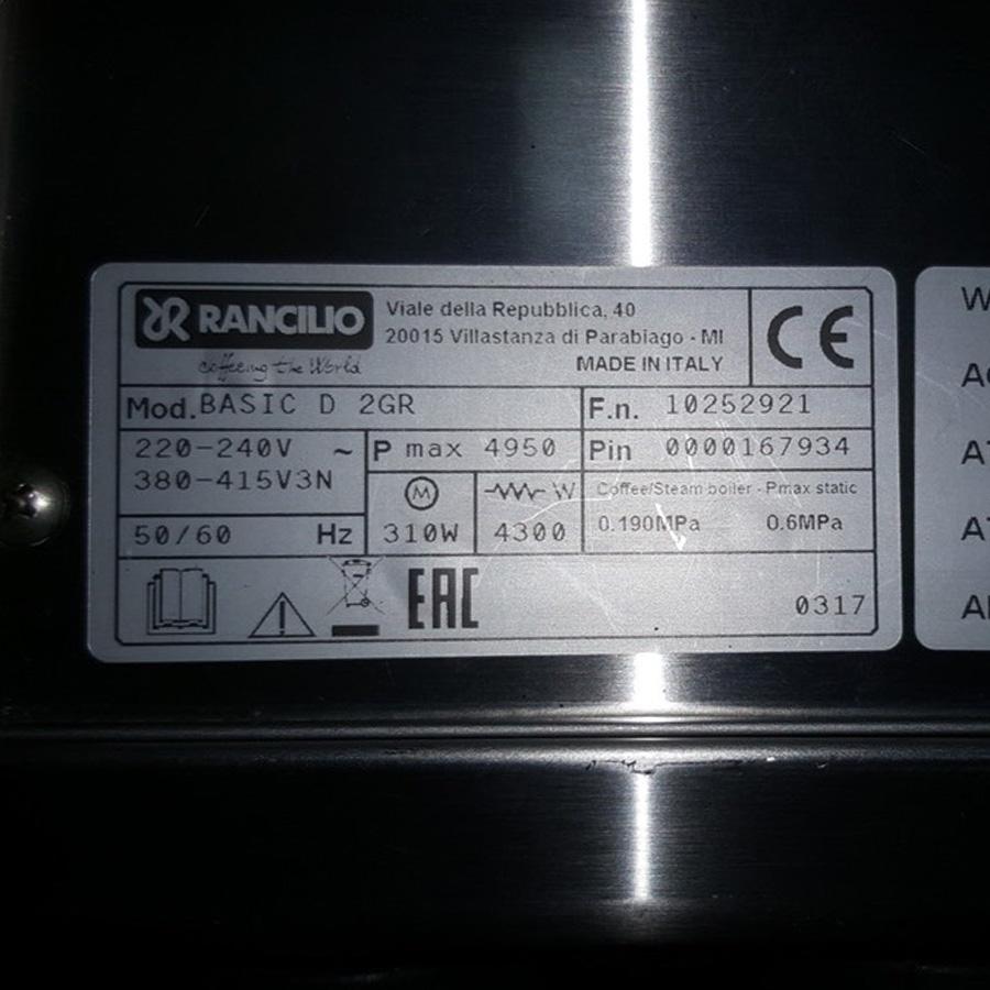 Máy Rancillio Basic D 2 group