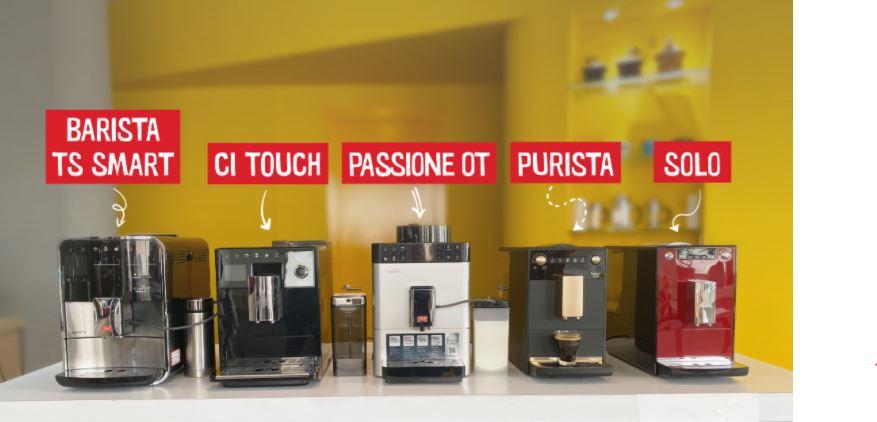 Máy pha cà phê Melitta – Review tất cả thông tin về hãng