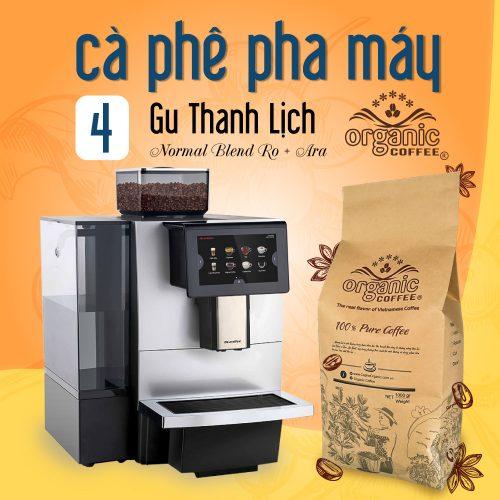 Cà Phê Pha Máy Organic Coffee
