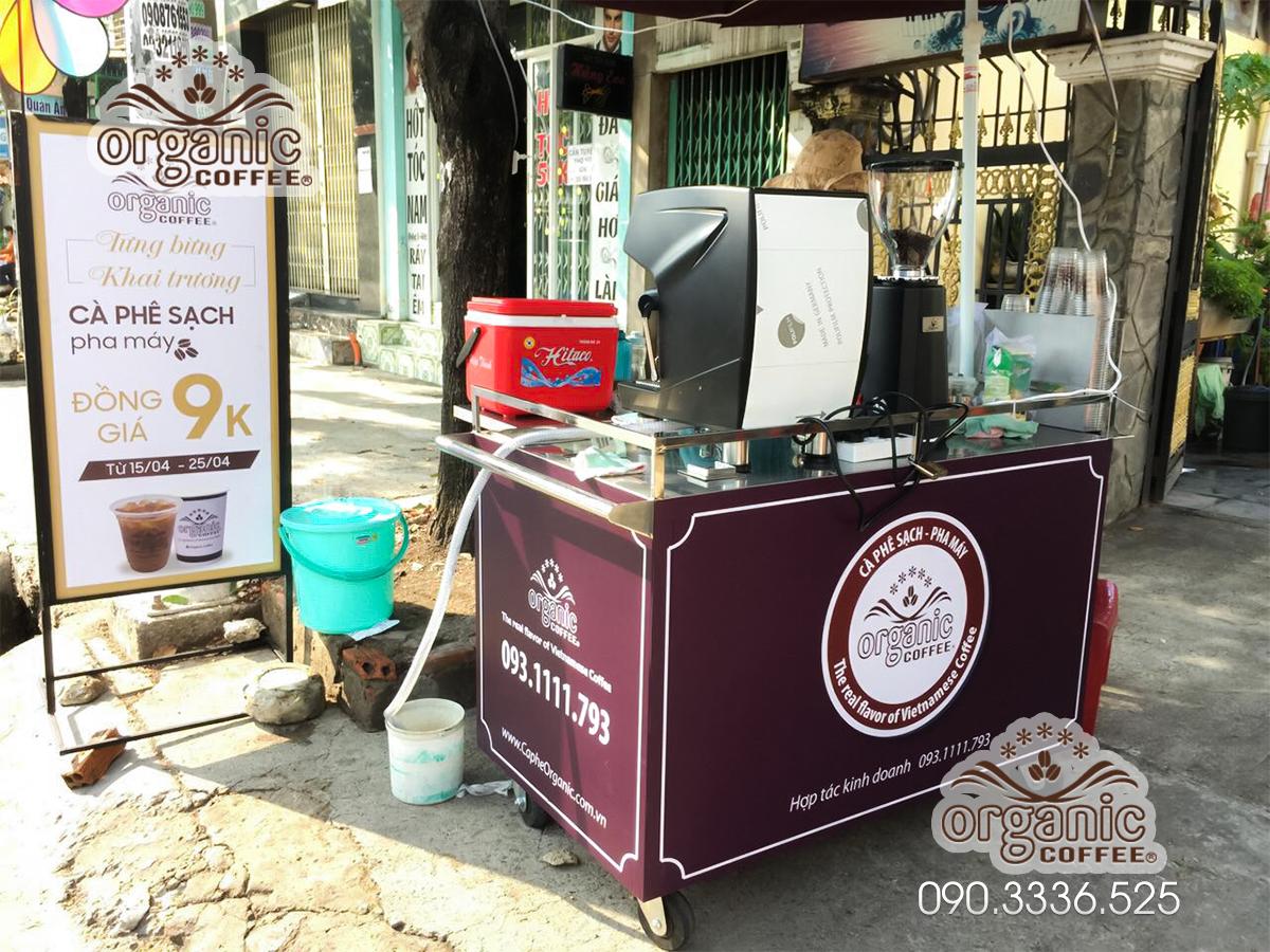 Xe Cà Phê Take Away Tại Quận 6 Của Organic Coffee