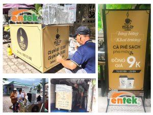 Tư Vấn Vận Hành Coffee Takeaway tại Củ Chi